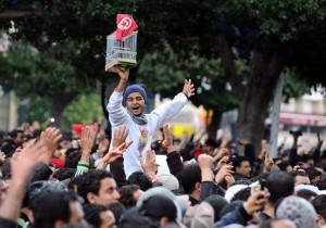 révolution en Tunisie