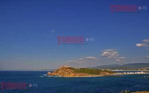 La ville de Tabarka, côté mer