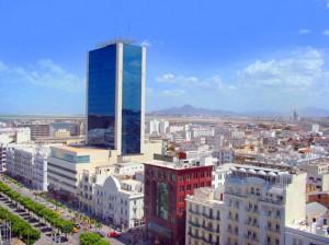 ville moderne Tunis