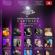 festival carthage 2012