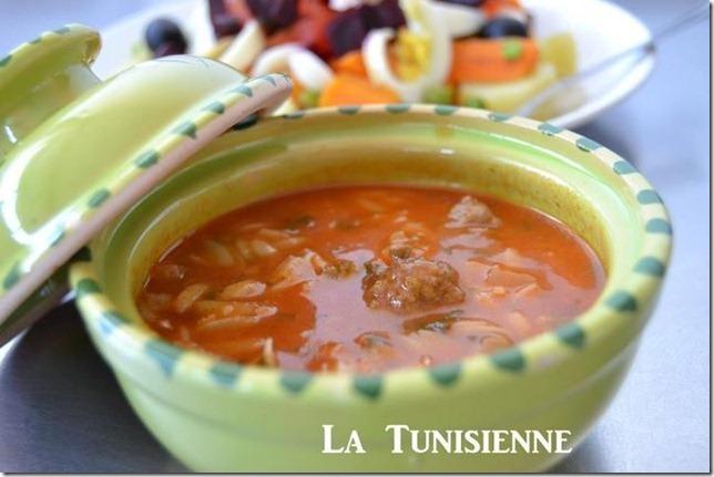 Chorba tunisienne