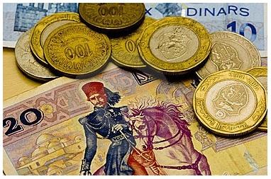 pièces et billets tunisiens