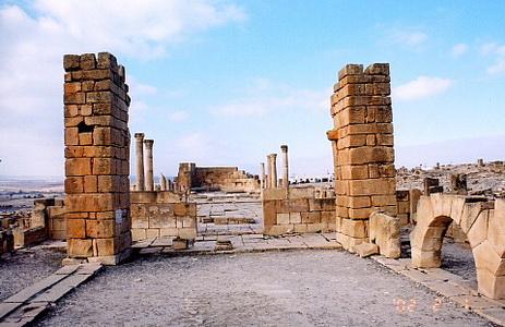 Les ruines romaines de Sbeitla